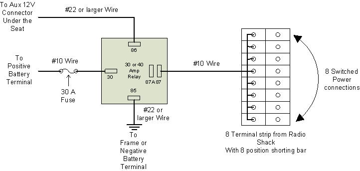 Electrical 8 Way Power Connector: Wiring Diagram For 08 V Star 1300 At Gundyle.co